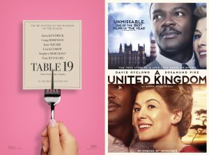 Indie Double Feature Table 19 And A United Kingdom